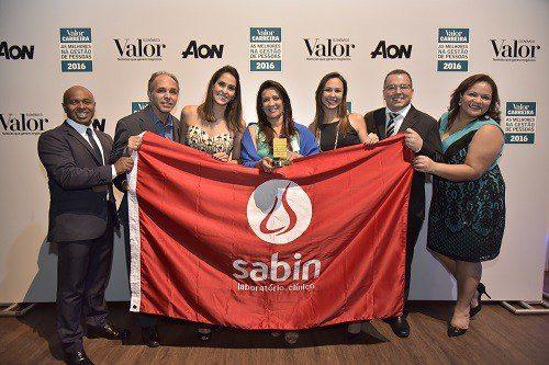 RH do Laboratório Sabin é premiado
