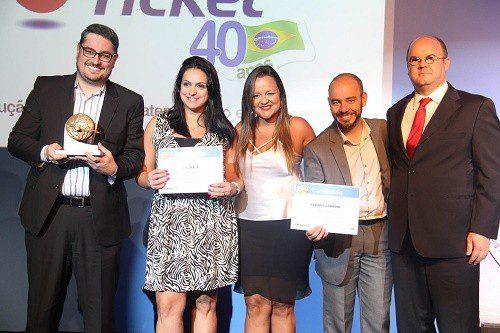 Ticket conquista prêmio de Inovação Tecnológica