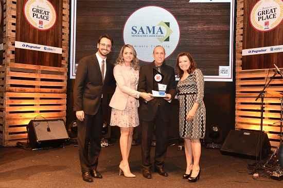 Pela quarta vez consecutiva, SAMA conquista premiação em primeiro lugar