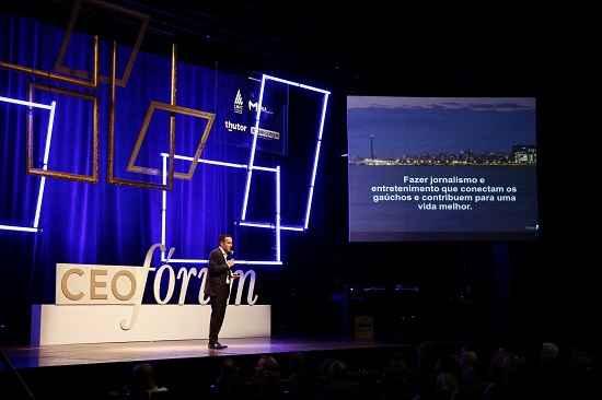CEO destaca a importância das pessoas no processo de transformação da empresa