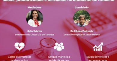 Webinar: inclusão de hábitos saudáveis no universo corporativo e seus benefícios