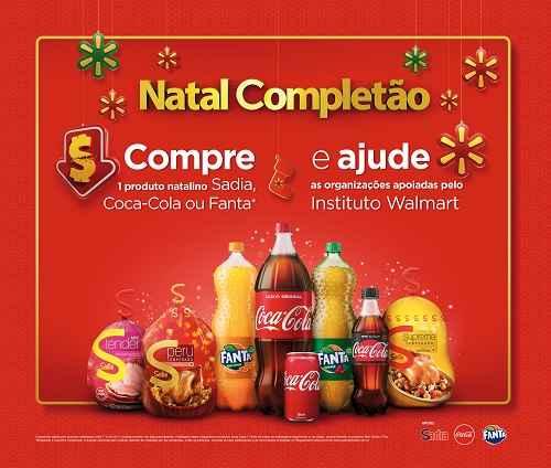 Walmart, Coca-Cola e Sadia fecham parceria para apoiar ONGs