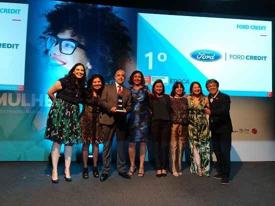 Ford Credit conquista primeira colocação no prêmio Great Place to Work Mulher