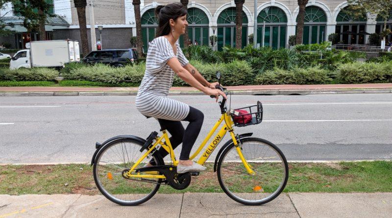 São Paulo ganha serviço de compartilhamento de bicicletas livres