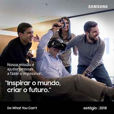 Samsung abre inscrições para o Programa de Estágio 2018