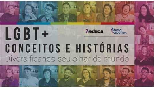 Serasa Experian e Veduca se unem pela causa LGBT+ e lançam curso online