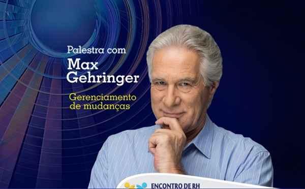 Encontro de RH terá palestra de Max Gehringer