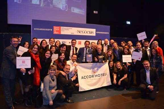 AccorHotels está no ranking das melhores empresas para trabalhar