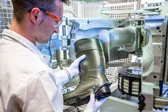 BASF é parceira na produção de calçado de segurança