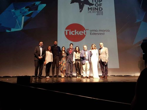 Ticket é ganhadora do Top of Mind de RH