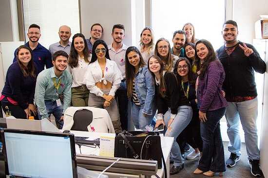 Grupo Cimed engaja funcionários em prol do Outubro Rosa