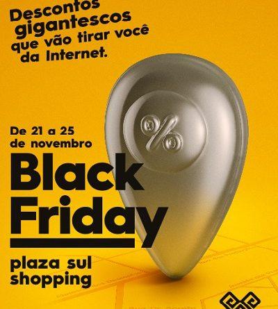 Campanha destaca as vantagens da Black Friday no varejo físico