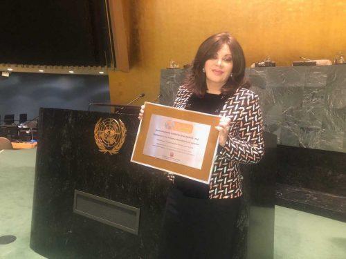 Arcos Dorados recebe prêmio na ONU