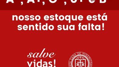 Hemocentro da Santa Casa de São Paulo precisa urgente de doadores de sangue