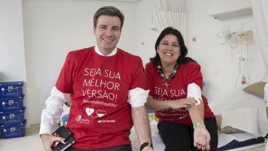 Santander mobiliza mais de 8.000 funcionários e clientes em Campanha de Doação de Sangue