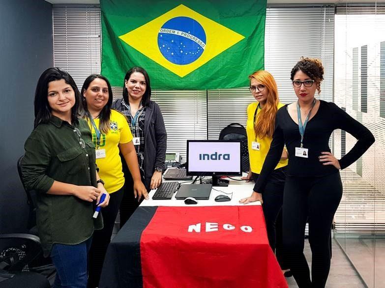 Indra celebra no Brasil seu primeiro hackday para potencializar o talento feminino dentro da companhia