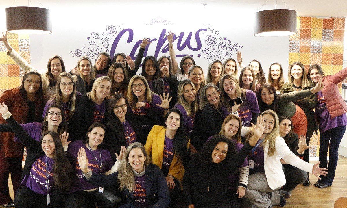 Danone promove empoderamento feminino junto ao time de vendas