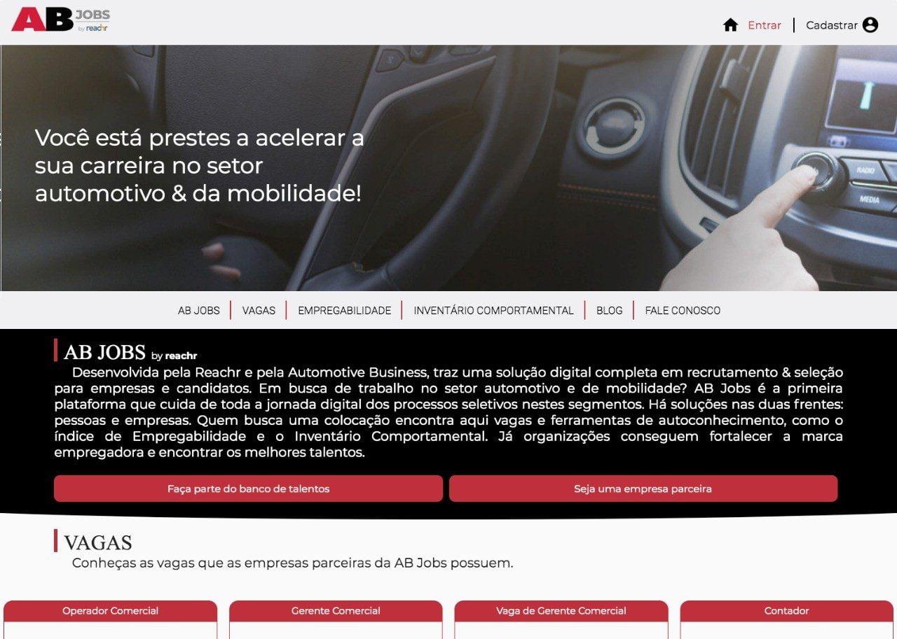 Setor automotivo ganha nova plataforma de recrutamento digital