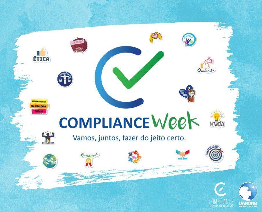 Danone faz uma semana de imersão no universo de Compliance para seus funcionários