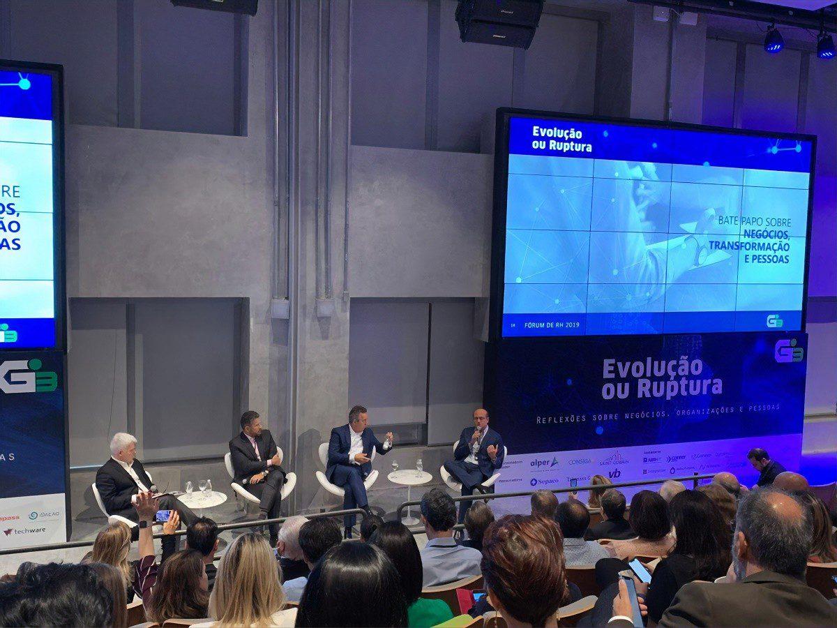 Fórum G3 traz reflexão profunda no mundo dos negócios, pessoas e organizações