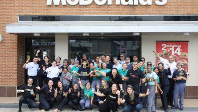 Photo of McDonald's operou restaurante somente com funcionários PCDs