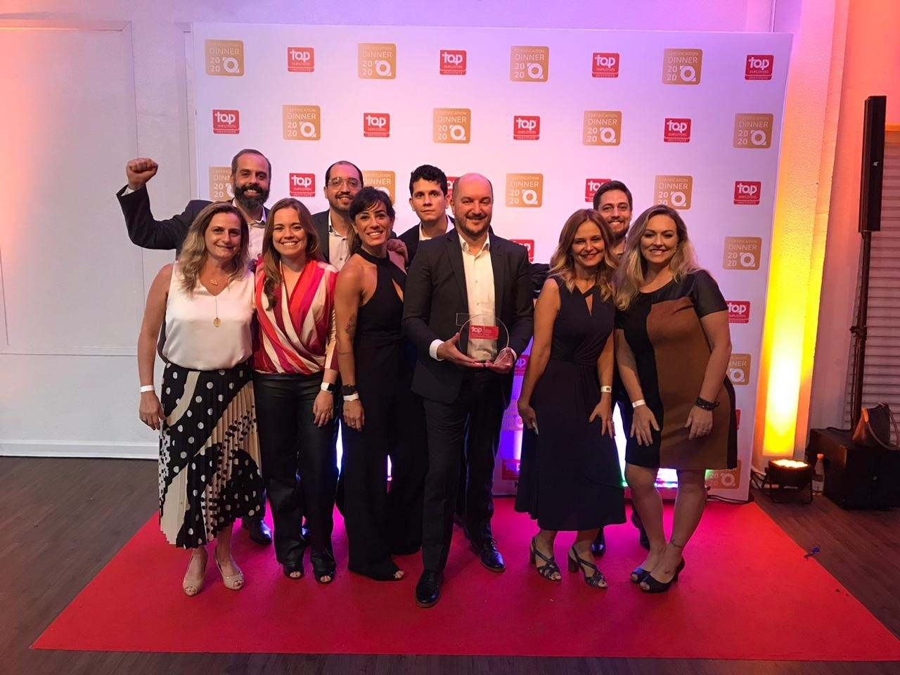Equipe de RH SAP Brasil conquista Top Employers Brasil