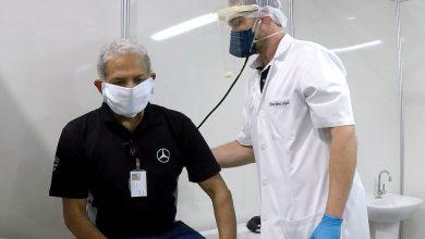 Photo of Mercedes-Benz constrói ambulatório de campanha dentro da fábrica  para atender casos de Covid-19