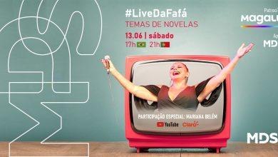 Photo of MDS Brasil apoia Live com Fafá de Belém no dia 13 de junho